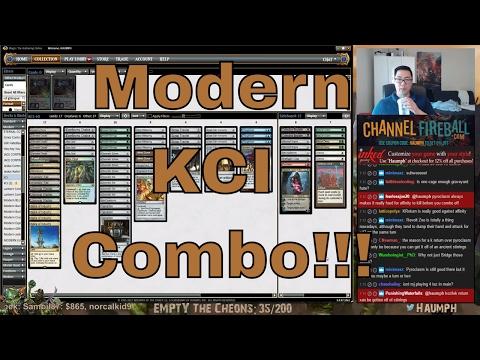 MTG - Modern - KCI Combo + Salty Salty Cheon
