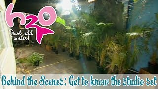 behind the scenes get to know the studio set h2o just add water official fan channel