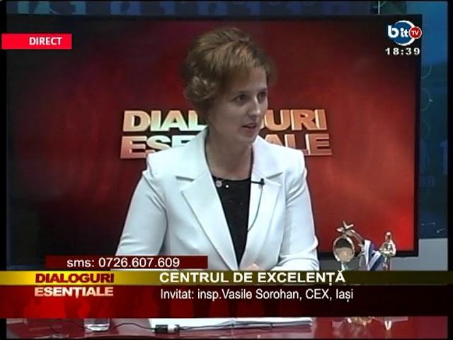 DIALOGURI ESENTIALE 12 OCTOMBRIE - CENTRUL DE EXCELENTA