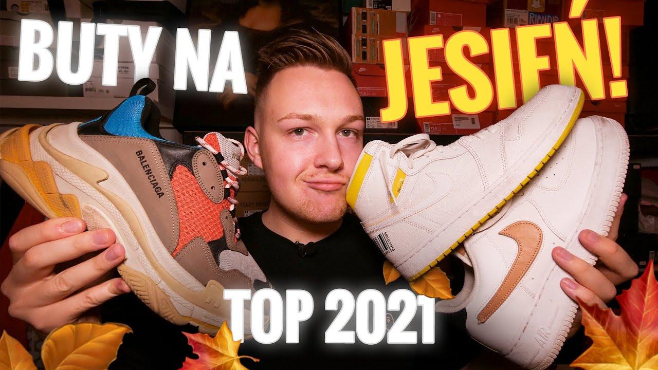 TOP 10 MARKOWYCH BUTÓW NA JESIEŃ 2020! Adidas, Nike, Jordan, Puma!
