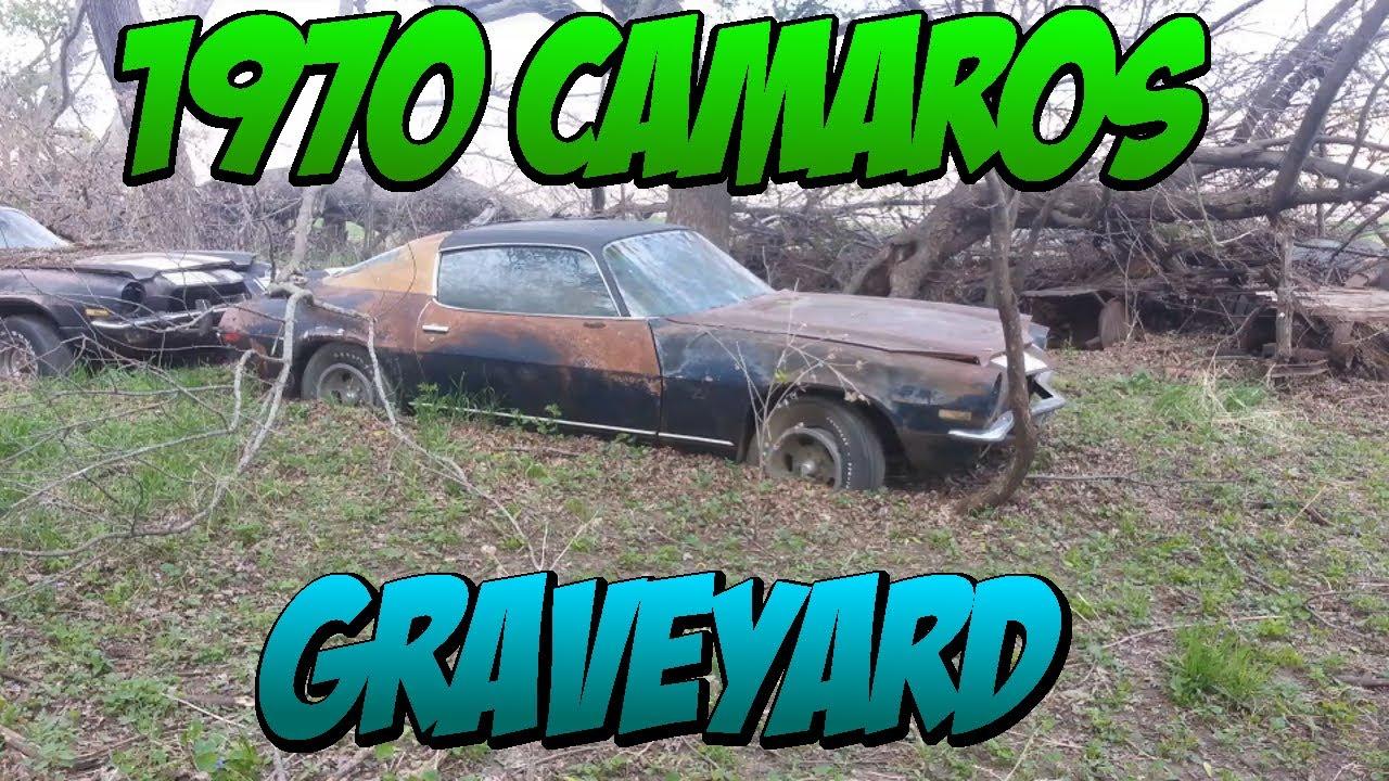 1970s Camaro Grave Yard 30 Camaros Firebirds Trans Ams