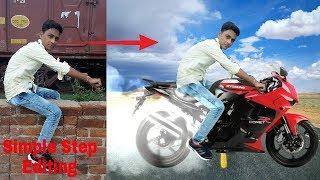 Picsart Bike Stunt Lover Boy Photo Editing(Hindi/Urdu)Picsart Change Bike Spin Tyres Manipulation screenshot 4