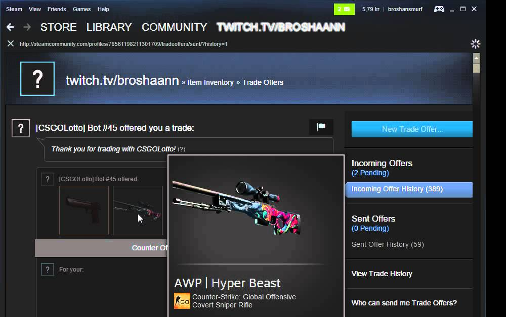 javascript - Steam how to create new trade offer? - Stack Overflow