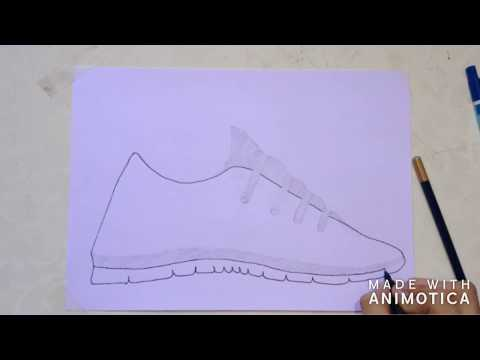 how-draw-nike-running-shoes!!!!