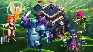 """FINISHING THE FEARLESS FIVE CHALLENGE ON THE 1K SUB GIVEAWAY ACCOUNT!!! - """"CLASH OF CLANS"""""""
