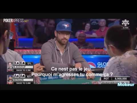 Clash de joueurs de poker - Coupdepoker.com