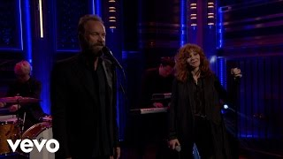 Mylene Farmer, Sting - Stolen Car (live at The Tonight Show)