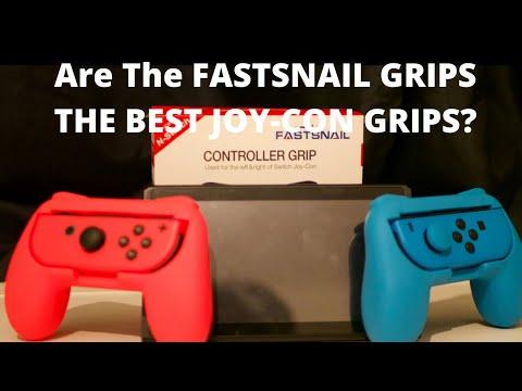 FASTSNAIL Joy-Con Grip Review/ Unboxing Should You Buy It?