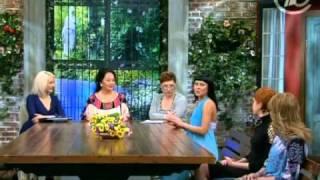 Сара Окс в Давай поженимся 29 марта 2011 г. Первый канал