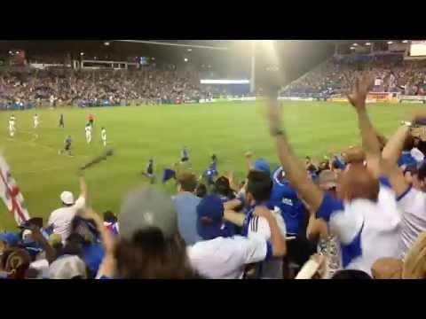 Impact de Montréal vs LA Galaxy  But de Drogba 93' #MTLvLA