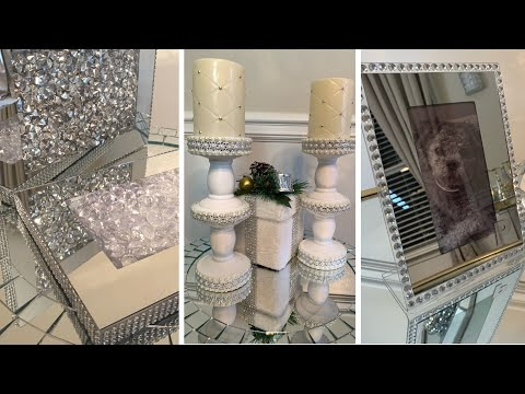 Dollar Tree DIYs || Glam Home Decor || Easy & Inexpensive
