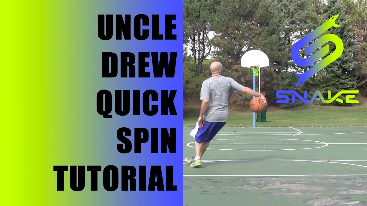 0ef2f97220b5 UNCLE DREW Move Tutorial! Kyrie Irving Behind Back Into QUICK Spin ...