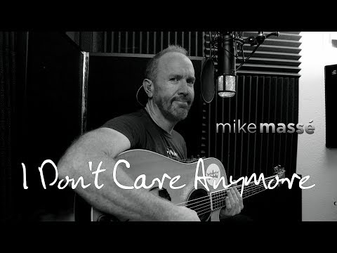 I Don't Care Anymore (acoustic Phil Collins cover) - Mike Massé