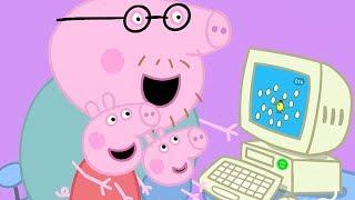 Peppa Pig in Hindi -  Mummy Pig Kaam Par - हिंदी Kahaniya - Hindi Cartoons for Kids