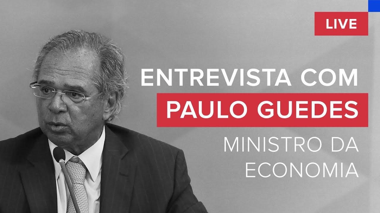 Entrevista exclusiva: Paulo Guedes (Ministro da Economia) fala sobre a crise da Covid-19