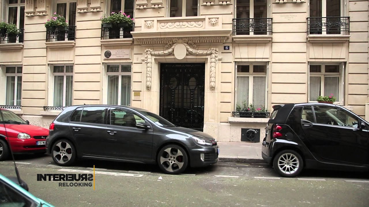Relooking d\'un appartement haussmanien - YouTube