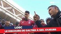 LOSC : Le discours de Christophe Galtier à ses joueurs