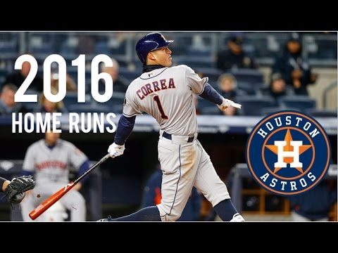 Houston Astros | 2016 Home Runs (198)
