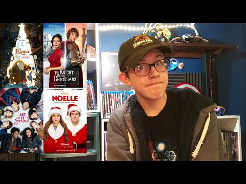 Klaus, The Knight Before Christmas, Let It Snow, and Noelle - Movie Reviews