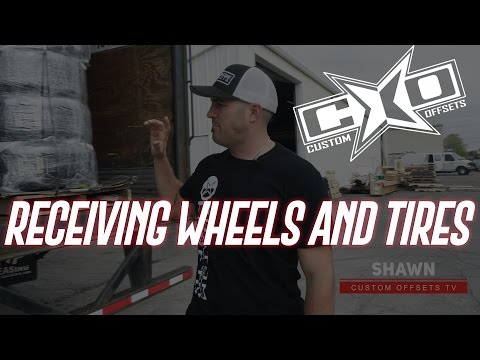 761ee306 How To Receive Your Wheel and Tire Order with Custom Offsets - YouTube