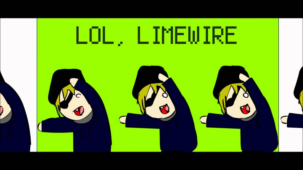 Limewire you are a pirate