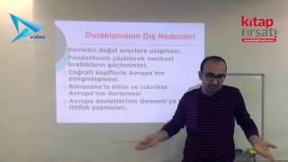 8) Osmanlı Devleti - Arayış Yılları/Duraklama Dönemi - Hamza TATAR (2016)