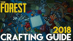 CRAFTING GUIDE 2018! - THE FOREST - [Alle Craftings V.0.73b]