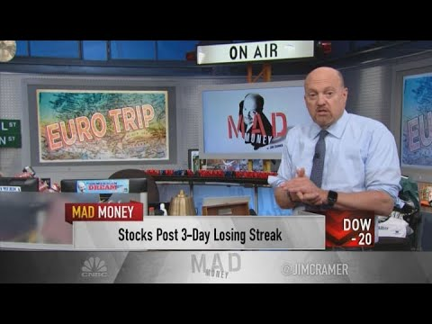 Jim Cramer Explains Why U.S. Stock Investors Should Not Sell On European Coronavirus Worries