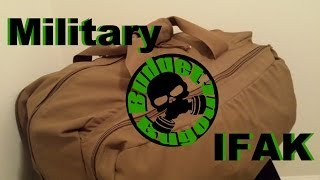 Military IFAK Contents - Combat Medical Kit