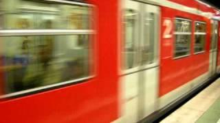 フランクフルト中央駅のS-bahn