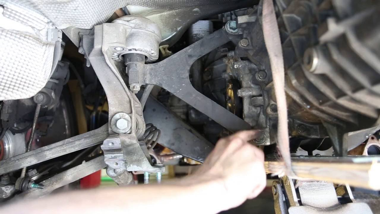 Porsche IMS Fix 4: How to Remove the transmission on the Boxster S