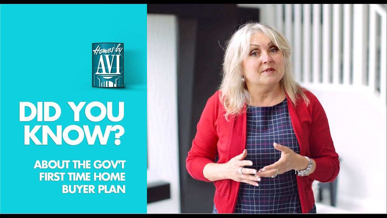 Did you know about the government 39 s first time home for First time home buyers plan