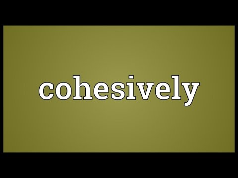 Header of cohesively