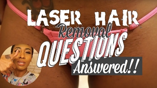 LASER HAIR REMOVAL FULL BIKINI UPDATE | DARK SKIN| RESULTS | GRAPHIC