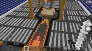 Minecraft WWE STADIUM(WRESTLEMANIA 33)