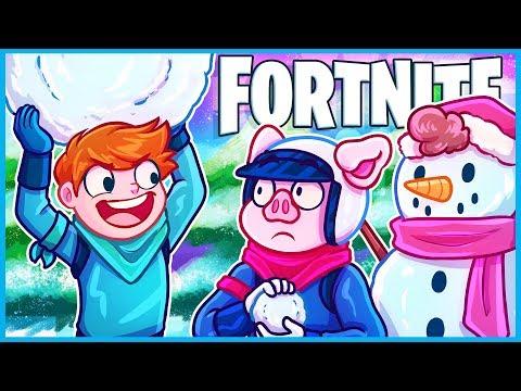 *NEW* SNOWBALLS Are COMPLETELY BROKEN In Fortnite: Battle Royale! (Christmas Update)