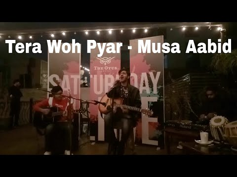 Tera Woh Pyar | Musa Aabid | Live @ The Otus Rooftop | Shuja Haider | Asim Azhar | Ali Aabid |