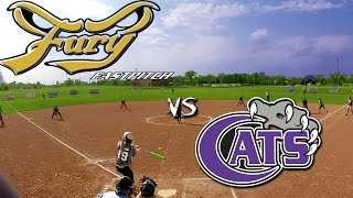 Fury Fastpitch Vegas vs Wildcats (2 camera angles!) 12u fastpitch softball