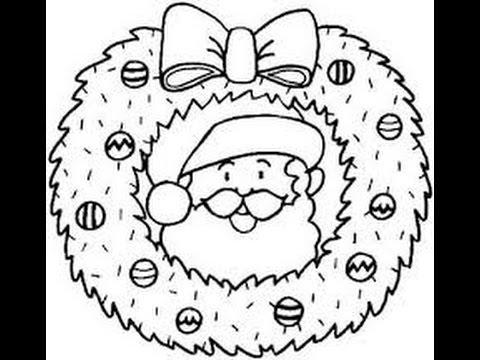 1000 Desenhos De Papai Noel Para Colorir Youtube
