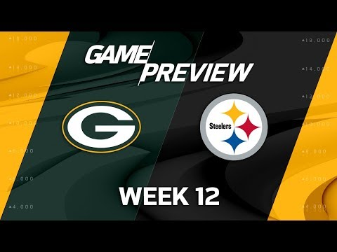 Green Bay Packers vs. Pittsburgh Steelers | NFL Week 12 Game Preview | Move the Sticks