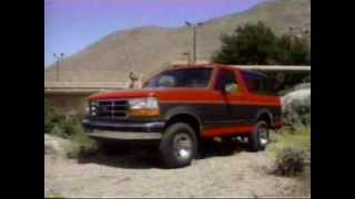 1993 Ford Bronco Dealer Training Video