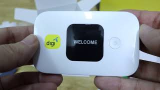 Digi Broadband 60 and Huawei E5577 (Unboxing and First Impressions)