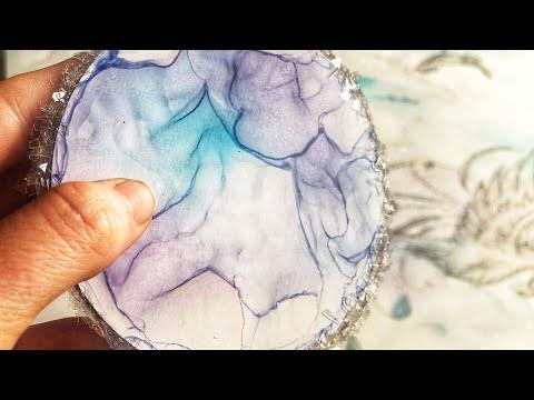 Frozen Coasters (a new way to create unique art)