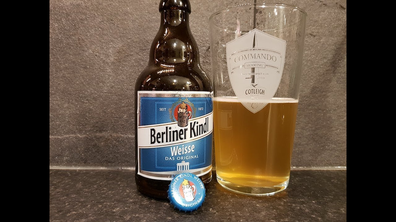 berliner kindl weisse das original german craft beer review youtube. Black Bedroom Furniture Sets. Home Design Ideas