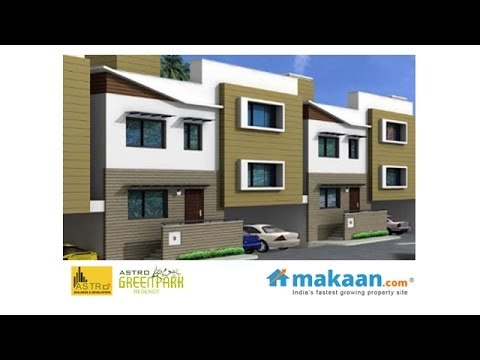 Green Park Regency By Astro Builders In Sarjapura Road Bangalore Row Houses Makaan