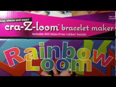 Rainbow Loom Vs Cra Z Loom Rubber Band Kit Comparison