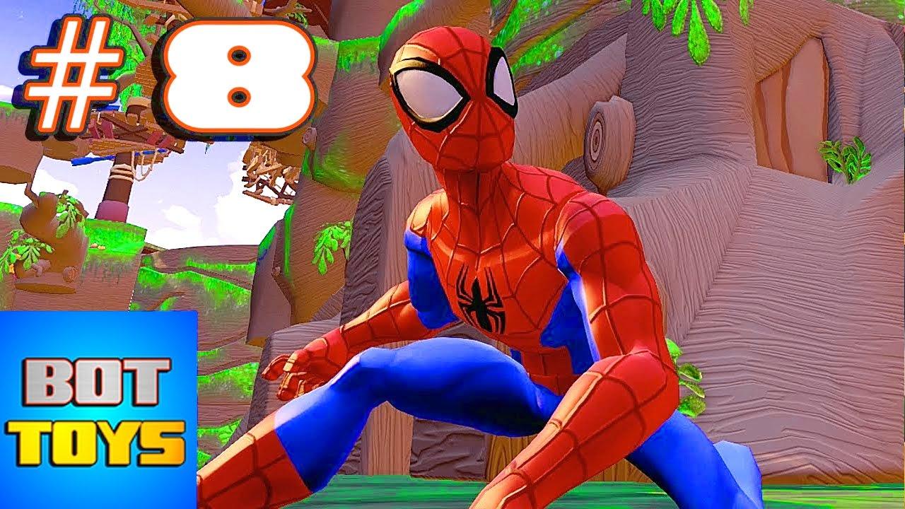El Hombre Araa en Espaol 8 Spiderman El Heroe de Dibujos