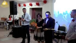 Годовщина церкви часть-5   Поздравление пастора  и песня от Р.Ц.