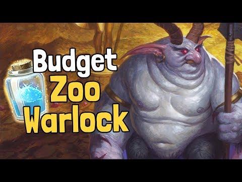 Budget Zoo Warlock Deck Guide (K&C) - Hearthstone