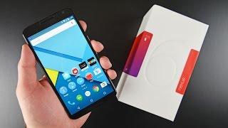 Nexus 6 - Google Nexus 6: Unboxing & Review